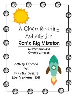 """Ron's Big Mission"" Close Reading Activity"