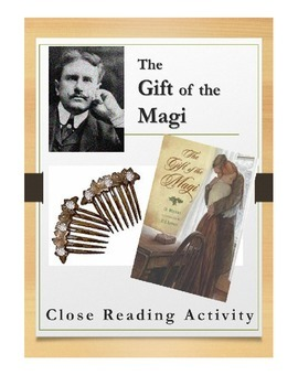"""Close Reading Activity for """"The Gift of the Magi"""" by O. Henry"""