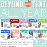 Reading Activities Beyond the Text All Year Bundle