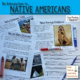 Close Reading Unit: An Intro to Native Americans Comprehen