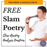 Close Reading Analysis of a Slam Poem for Middle School and High School
