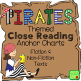Close Reading Anchor Charts - Pirate Theme