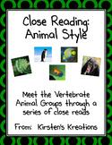 Close Reading Animal Style