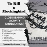 To Kill a Mockingbird, Close Reading  (Annotation) Lesson