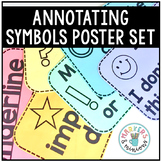 Close Reading Annotating Posters (Freebie!)