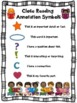 Close Reading Symbols Charts & Bookmarks BUNDLE, Winter, V