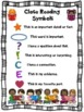 Close Reading Symbol Charts, Fiction & Nonfiction, End of Year, ANY Topic