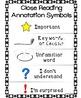 Closed Reading Annotation Symbols Textos Informativos Simb