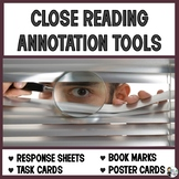 Close Reading Annotation Tools