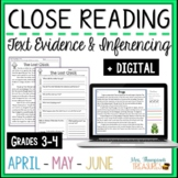 Reading Comprehension - April, May, June