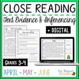 Spring Reading Comprehension Passages & Questions - April,