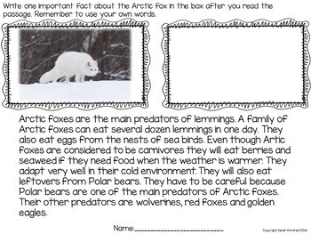 Science: Reading Comprehension Passages and Questions