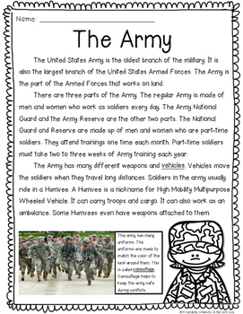 Close Reading: Armed Forces
