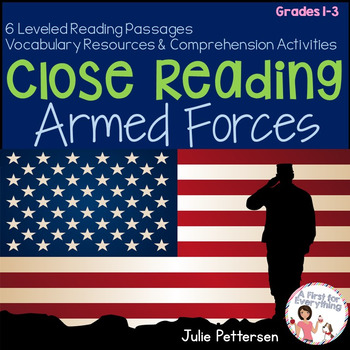 Close Reading Armed Forces