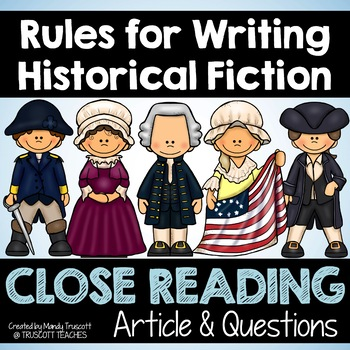 "Close Reading Article: ""Rules for Writing Historical Fiction"""