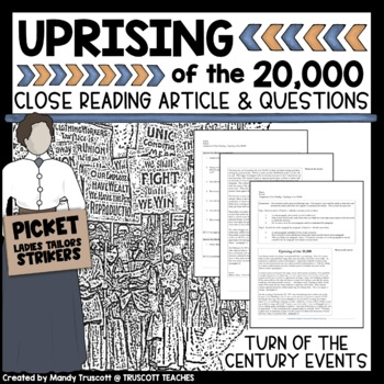 Close Reading Article: Uprising of the 20,000 (Garment Wor