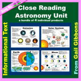 Close Reading: Astronomy Unit
