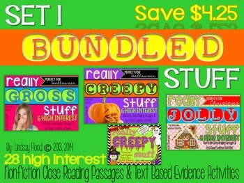 Close Reading BUNDLE - Set 1