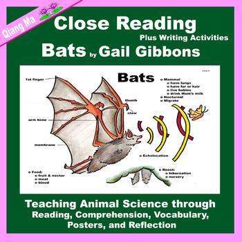 Close Reading: Bats by Gail Gibbons