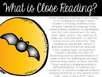 Close Reading ~ Batty for Bats Edition