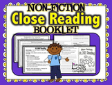 Close Reading Booklet