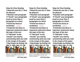 Close Reading Bookmark