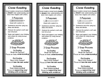 Close Reading Bookmarks by Wise Words by Kelli Alaina | Teachers ...