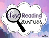 Close Reading Bookmarks