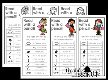 Close Reading Bookmarks with Annotation Symbols