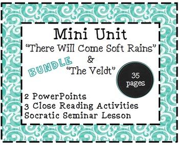 "Mini Unit: ""There Will Come Soft Rains"" and ""The Veldt"" BUNDLE"