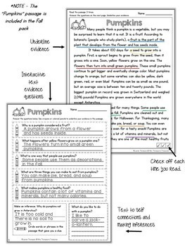 Reading Comprehension Bundle Grades 3-5