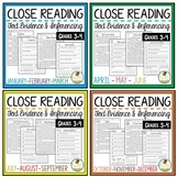 Reading Comprehension Bundle Grades 3-4