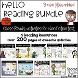 Close Reads Bundle Informational text, annotation  Distance Learning