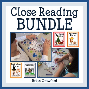Close Reading Passages - Stories and Activities Bundle - Endless