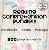 Close Reading Bundle For Middle School