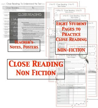 | Close Reading Bundle NON FICTION |