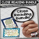 Close Reading Bundle for Upper Grades