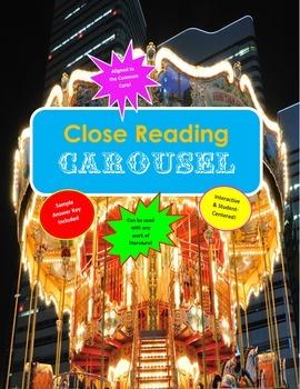 Close Reading Carousel