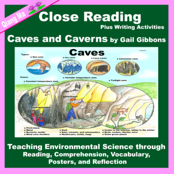 Close Reading: Caves and Caverns by Gail Gibbons