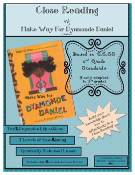 Close Reading Ch. 1: Make Way for Dyamonde Daniel