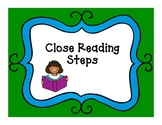 Close Reading Chart