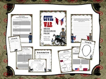 Close Reading (Civil War) GIANT 4-IN-1 VALUE BUNDLE