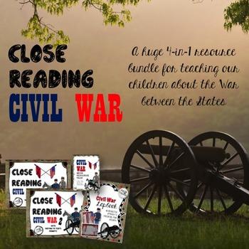 Close Reading (Civil War) GIANT 4-IN-1 VALUE BUNDLE