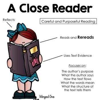 Close Reader Posters