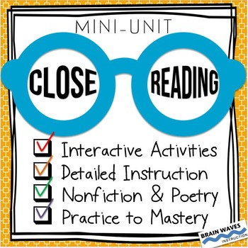 Close Reading -- Close Reading Passages -- Nonfiction Reading Practice