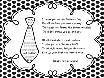 Father's Day Poem Free