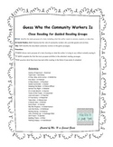 Close Reading - Community Workers
