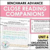 Benchmark Advance Close Reading Companions (Fourth Grade, Unit 6)