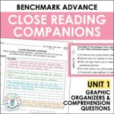 Benchmark Advance Close Reading Companions (Fifth Grade, Unit 1)