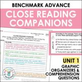 Close Reading Companions (Benchmark Advance, Fourth Grade, Unit 1)